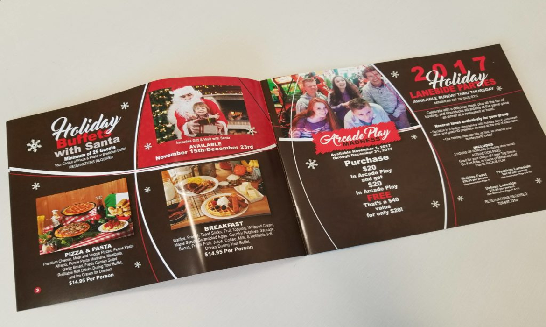 Boondocks Fun Center Christmas Brochure